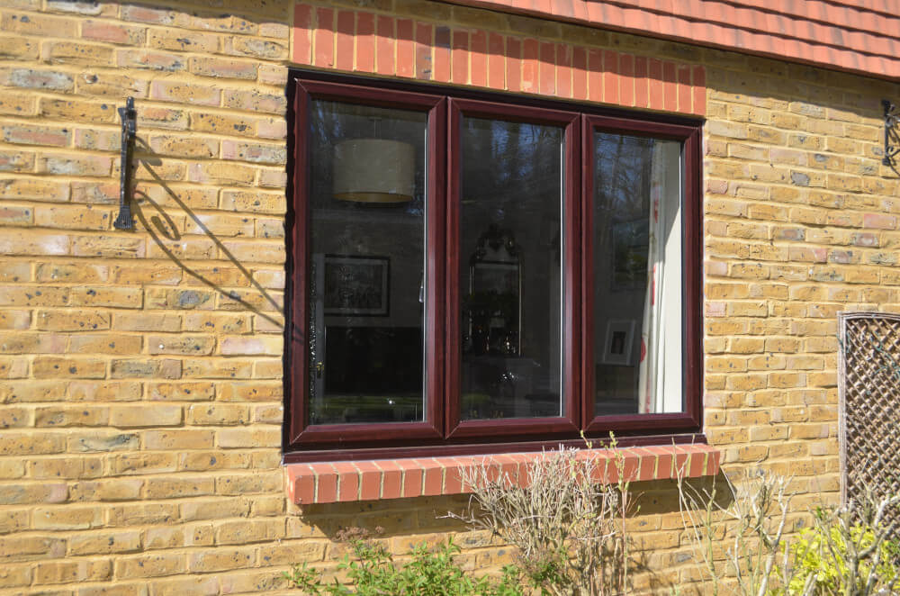 uPVC slimline casement windows Rosewood