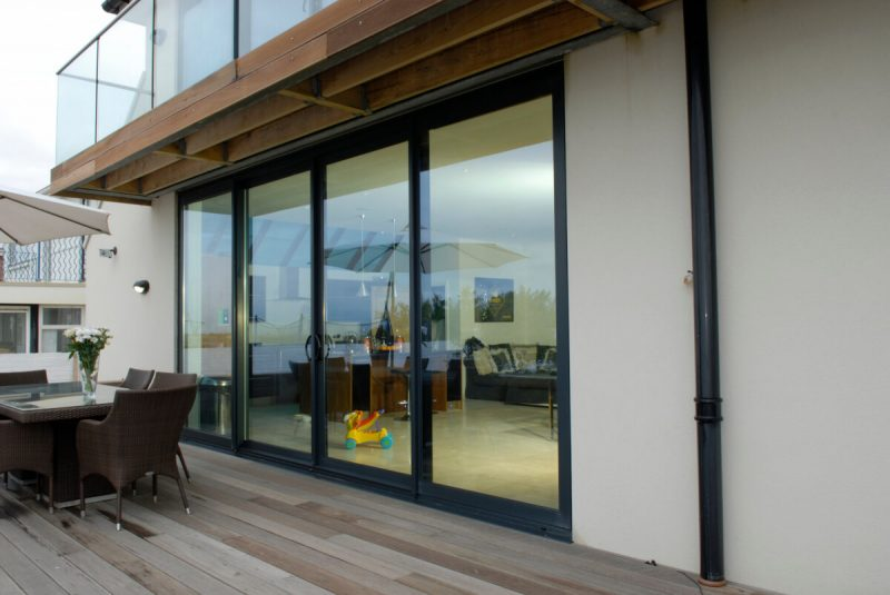 aluminium lift and slide doors