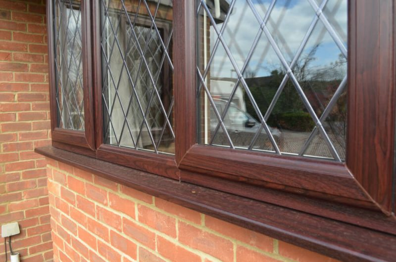 closeup-rosewood-slimline-windows-uPVC