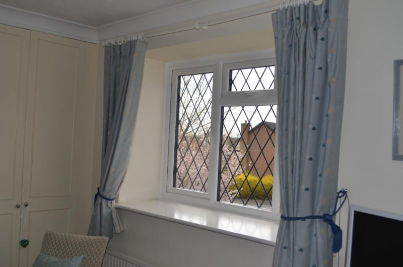 Slimline windows white interior colour