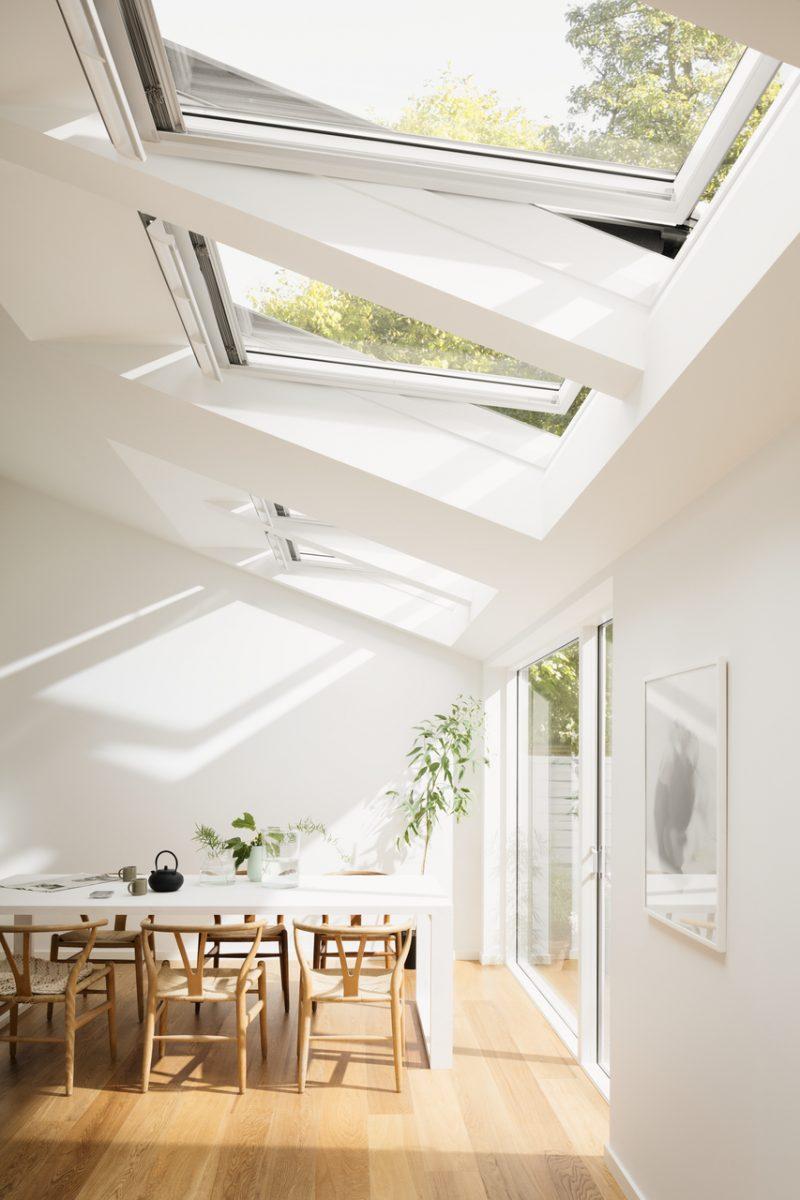 Modern velux window extension