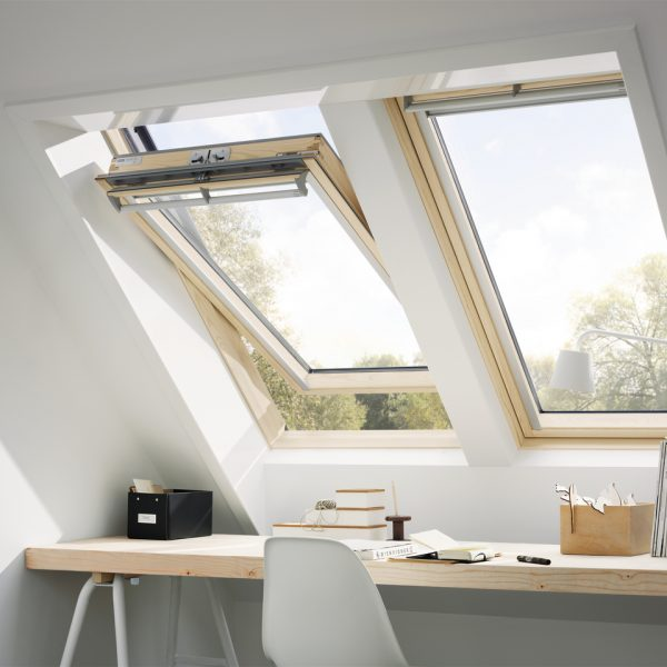 Two velux windows