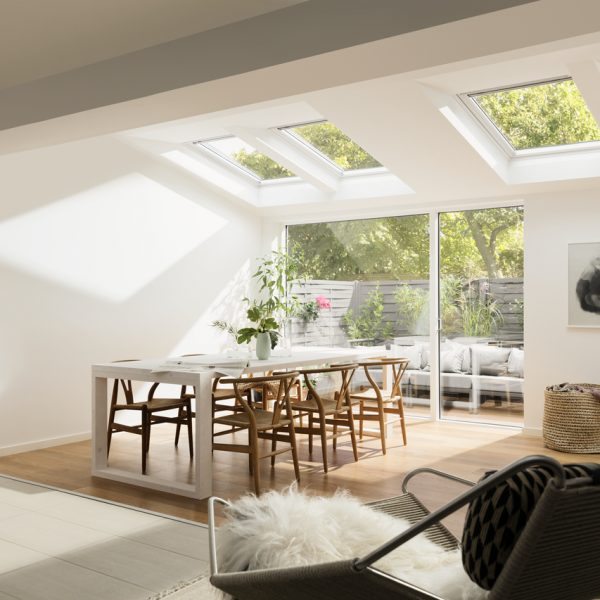 Velux on home extension