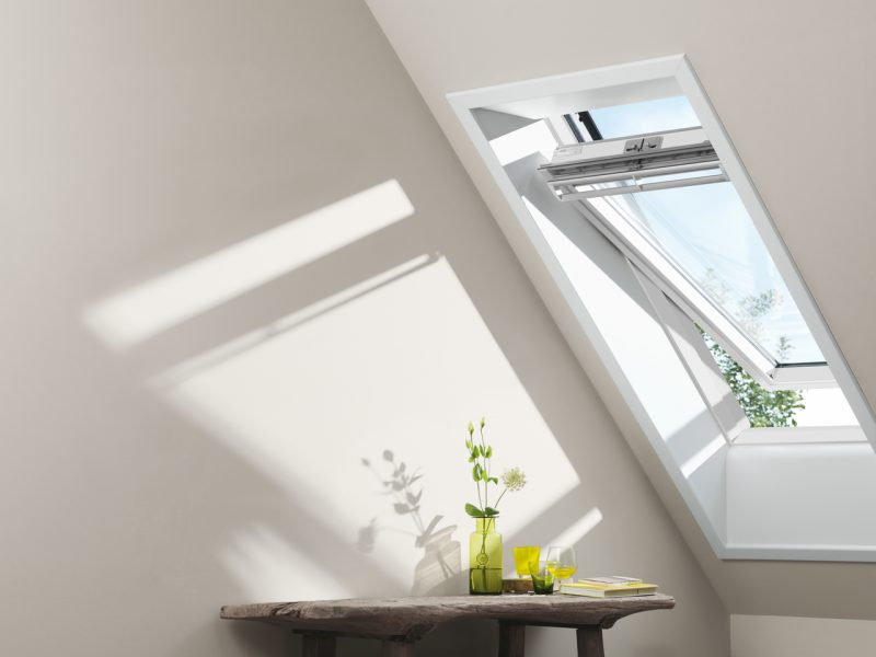 White velux window