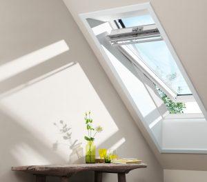 White velux window square