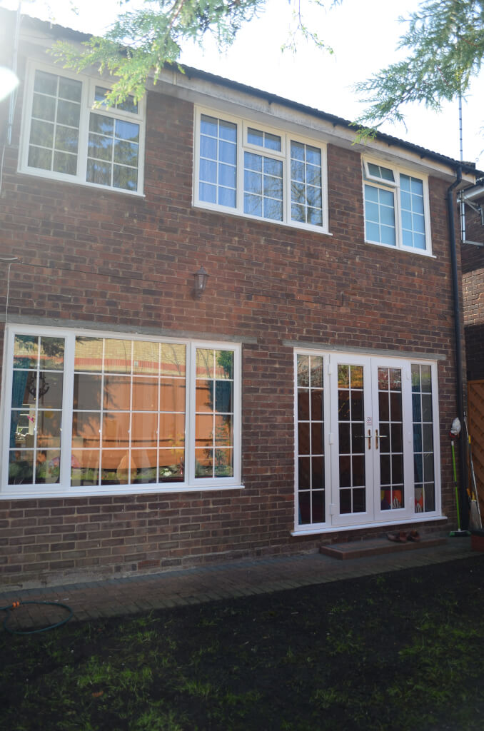 slimline windows and doors installation in Woking