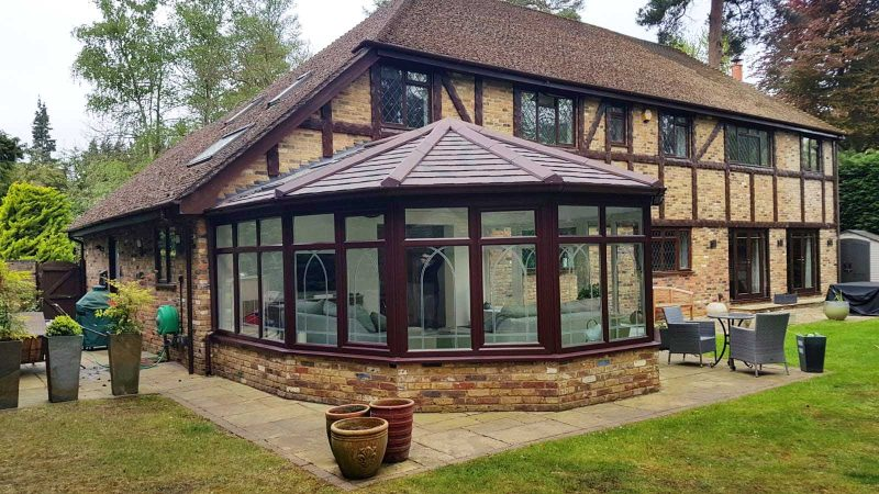 Brown Roof Conservatory
