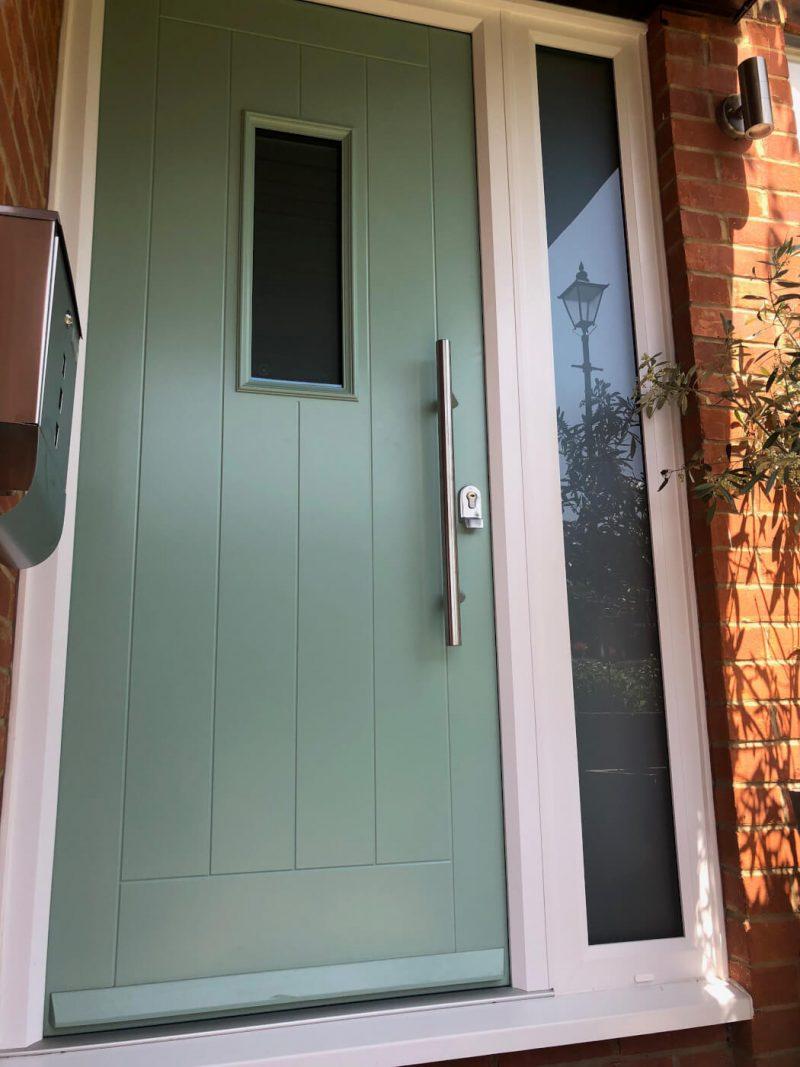 Mills Chartwell green composite door