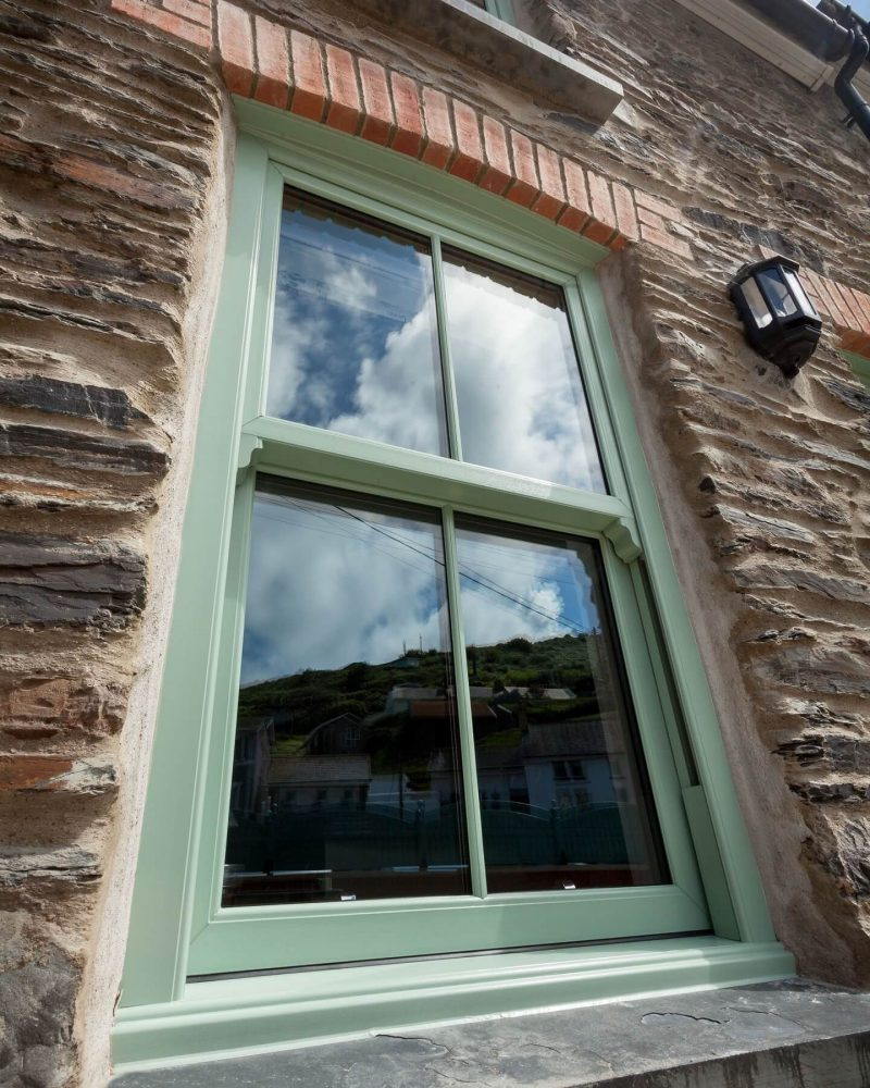 Chartwell Green Sash Window