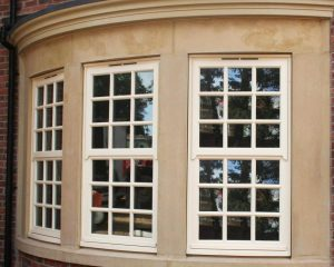 Mock Sash Windows in Cream