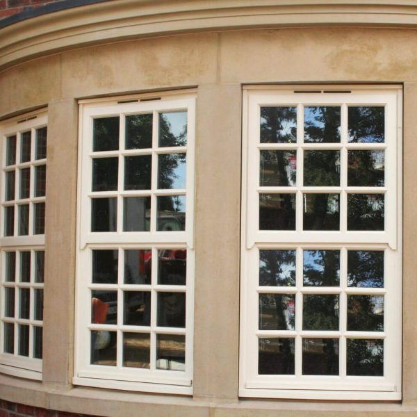 Mock Sash Windows in Cream