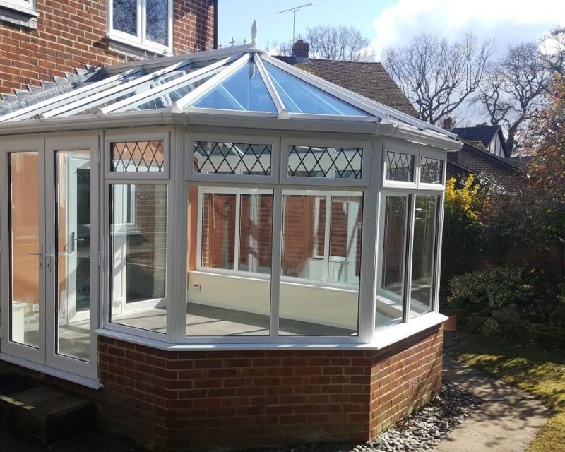 uPVC Victorian Conservatory with Dwarf Wall