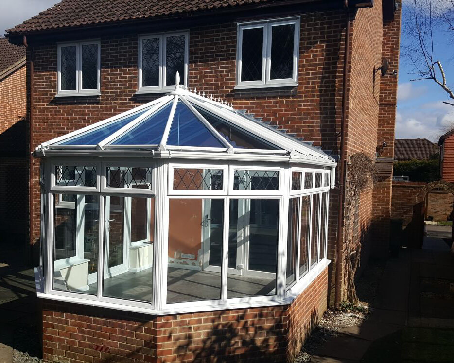 White Victorian Conservatories
