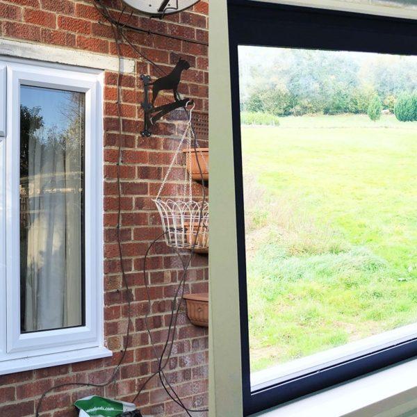 Slimline uPVC and aluminium windows